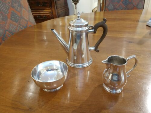 Fine Sterling Silver Coco? Coffee Set by Tiffany & Company Rare Made In England