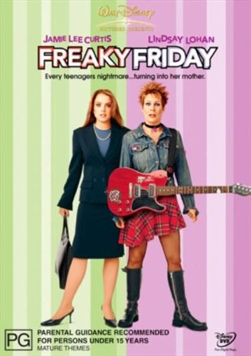 FREAKY FRIDAY DVD, NEW & SEALED, FREE POST