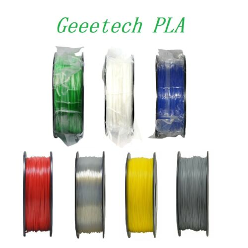 Geeetech 4 Roll of Filament Purple/White/Green/Blue PLA 1.75mm for 3D Printer