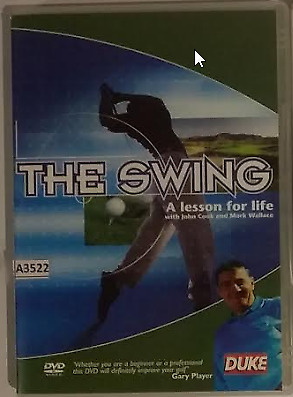 The Swing - A Lesson For Life DVD Golf Joghn Cook Mark Wallace R0 - all regions