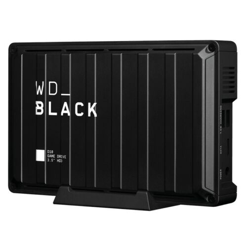 Western Digital WD Black 8TB D10 Game Drive for Xbox One External Hard Drive