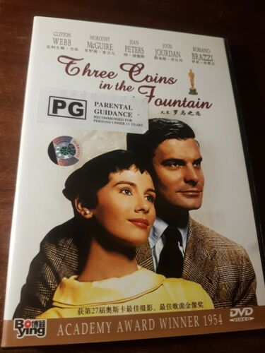 Three Coins in the Fountain 1954 Dorothy McGuire, Jean Peters (Region 6) Chinese