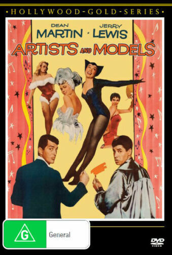 ARTISTS AND MODELS DVD 1955 NEW R4 Jerry Lewis, Dean Martin, Shirley MacLaine
