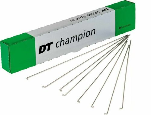 ~ 75 New DT Swiss 272mm Champion Stainless 2.0mm 14 Gauge Spokes /& Nipples ~