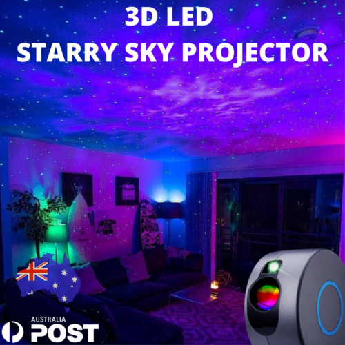 3D Aurora LED Starry Sky Star Projector Light Nebula Night Lamp! Aus 🇦🇺 Galaxy <br/> NEWLY LISTED🔥Latest 2021 Version! Aus Stock!🔮⭐
