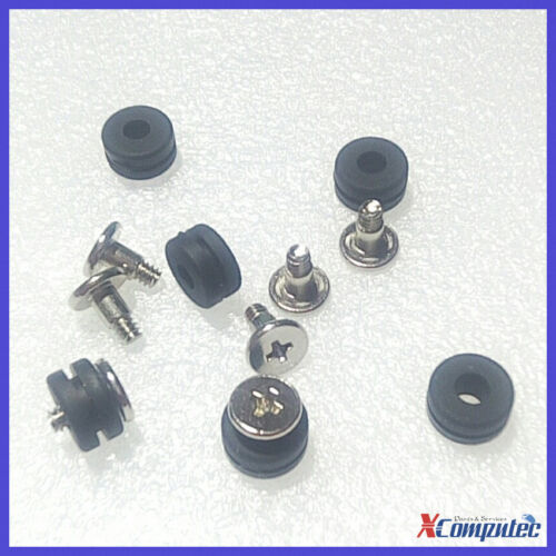 """4 Pack #6-32 Anti-Vibration Thumb Screw Kit For 3.5"""" Hard Drive HDD Tower Case"""
