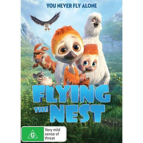 FLYING THE NEST DVD, NEW & SEALED, FREE POST