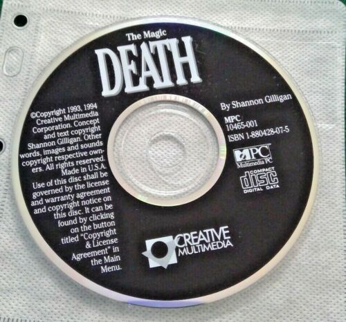 The Maagic Death PC software 1994 (2020)