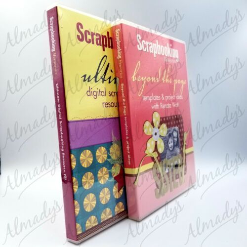 Scrapbooking Memories - Beyond the Page and Ultimate NEW CD-ROMs FREE SHIPPING