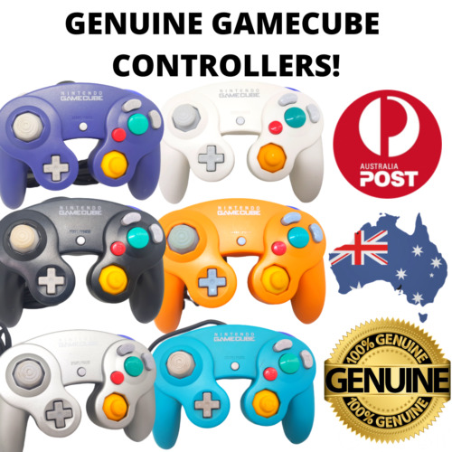 GENUINE Gamecube Controller, Official, Tested & Working FREE POST! 🇦🇺 Au Stock