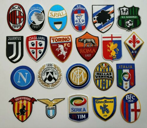 ITALIA SERIE A PARCHES PATCH TOPPA FLICKEN PIÈCEParches - 4725