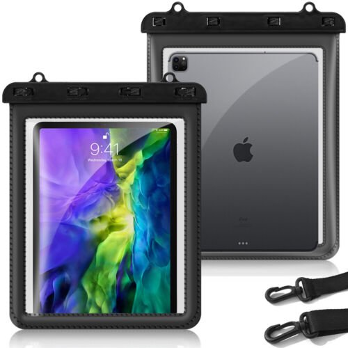 Waterproof Clear Tablet Case Transparent Bag Cover Pouch with Touch Screen -11''