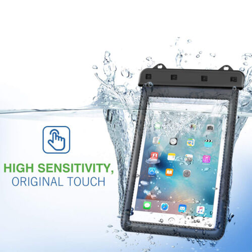 Universal iPad Waterproof Case, Dry Pouch for iPad 8/7th, iPad 6/5/4/3/2, Air1/2