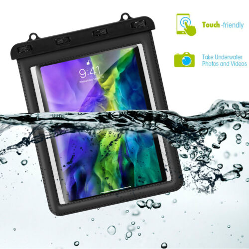 "Universal Waterproof Case for Tablets & Accessories Up to 11"" inch"