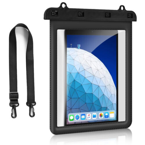 iPad Waterproof Case, Dry Bag Pouch IPX8 Certified for iPad 7th/8th, Air 4/3/2/1