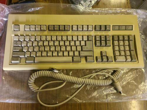 Honeywell vintage computer keyboard + cable 102RXi good used condition