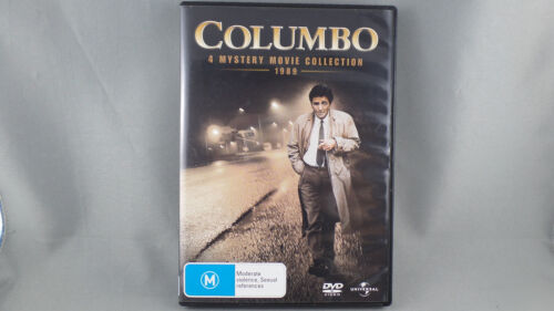 DVD - Columbo - 4 Mystery Movie Collection (DVD, 2008, 2-Disc Set)