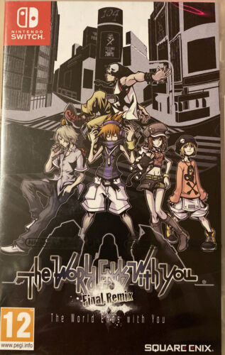 The World Ends With You - Final Remix - Nintendo Switch - PAL FR