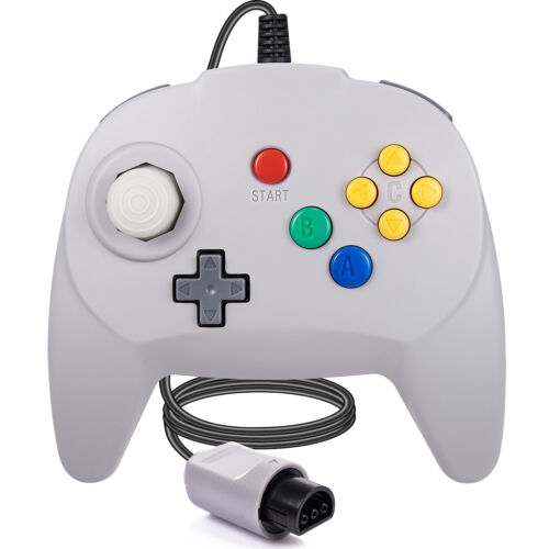 For N64 Console Upgraded N64 Controller Gamepad Built with a Japan Analog Stick