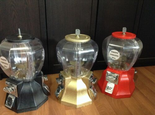 Coin Operated (20c) Dual Dispensing Gumball / Candy Machine (PICK UP ONLY IN SA)