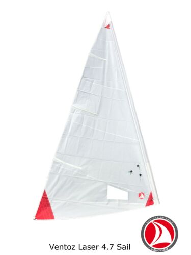 Ventoz Laser 4,7 Sail (red patches)