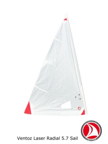 Ventoz Laser Radial Sail (5,7 m2) - Red Patches