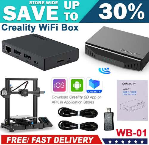 AU Creality 3D WiFi Box Remote Control with APP Compatible with Android iOS