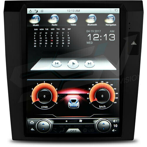 SatNav to Suit Holden Commodore VE series 1, Dual Zone Climate Control - Black V