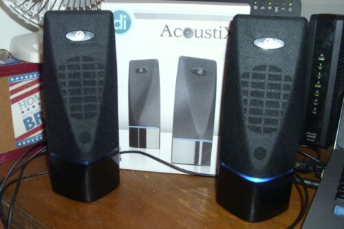 Digital Innovations 4330100 AcoustiX Multimedia Speakers