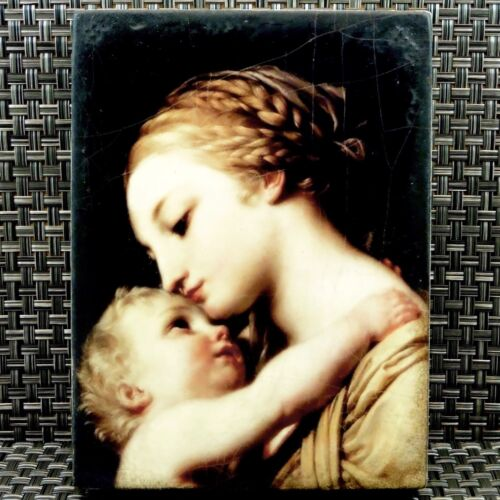 Sid Dickens T-375 WARM EMBRACE SIGNED Mother Child New Memory Block