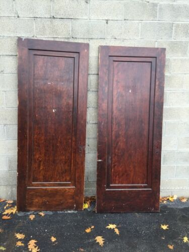Neo 5 Two Available Antique Birch Passage Doors