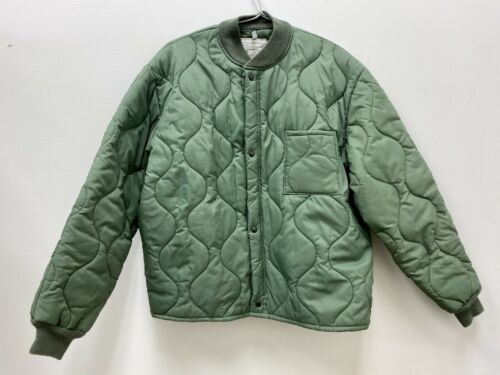 Genuine 1999 US Air Force USAF Flyers CWU-9/P Quilted Liner Jacket - LargeOriginal Period Items - 156451