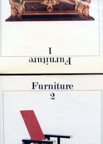 Antique Furniture - Types Periods Makers / Scarce 2-Vol Book Set