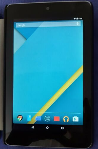 Asus Google Nexus 7 32GB Android Tablet Wi-Fi Bluetooth Camera ME370T & Case
