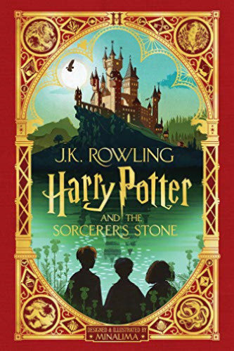 ROWLING,J K-HARRY POTTER AND THE SORCERERS STONE MINALIMA BOOK NUOVO