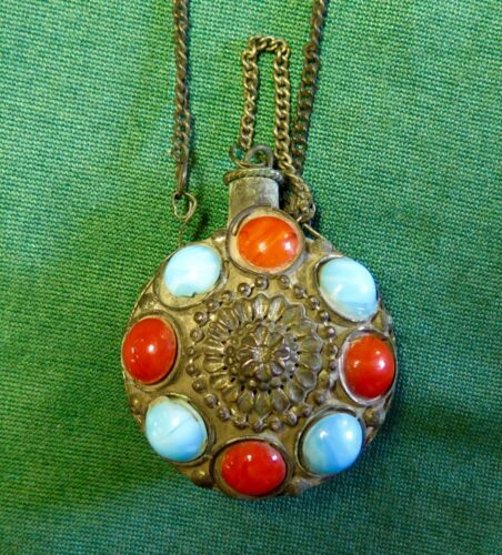 Unique Chinese Hand Made Flask Pendant-Estate Sale