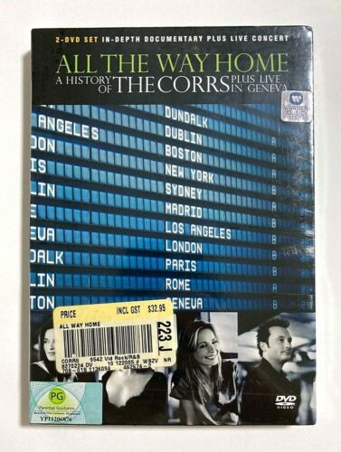 All the Way Home: A History of The Corrs Plus Live in Geneva BRAND NEW 2-DVD Set