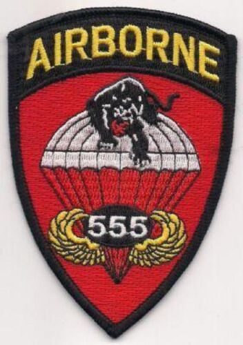 US Army Airborne 555th Parachute Infantry Battalion The Triple Nickels PatchMarine Corps - 66531