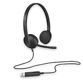 Logitech H340 Headset Usb, Mic, Win8 Supported 981-000477