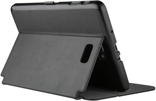 Speck Products StyleFolio Case and Stand for Samsung Galaxy Tab A 10.1, Black/Sl
