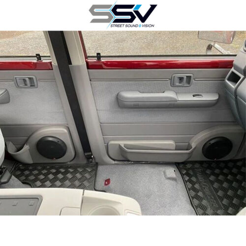 """Door Pods to suit Toyota Landcruiser 79 Series - Front and Rear 6.5""""  (CC-POD70F"""