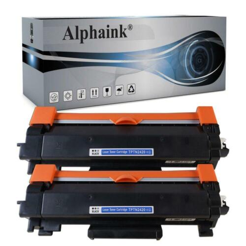 2 TONER COMPATIBILE TN2420XL BROTHER MFC L2710DW HL2310 2350 2370 2375 2510 2530