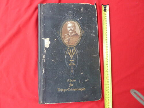 WW1 PHOTOGRAPH ALBUM HINDENBURG ON COVER1914 - 1918 (WWI) - 13962