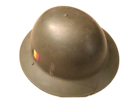 Genuine ww2 British & Allies Brodie Helmet complete with lining intact.1939 - 1945 (WWII) - 13977