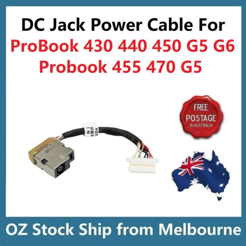 DC-IN Power DC Jack Socket Cable for HP ProBook 430 440 450 G5 G6 / 455 470 G5