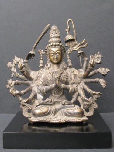 Glam Deco Bronze Of Nepal, Chandi