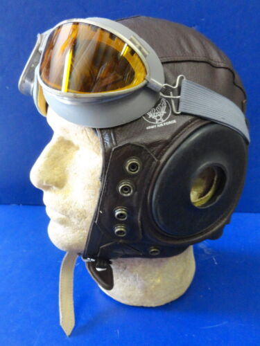 USAAF TYPE A-11 FLYING HELMET-NEW CONDITION-EX LARGEUnited States - 156437