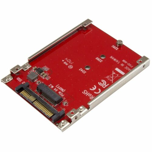 Star Tech Computer/Server M.2 to U.2 Host Adapter for M.2 PCIe NVMe SSD Drive