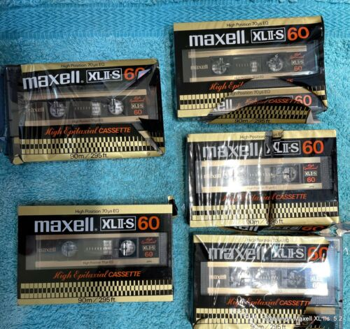 Maxell XLII-S   Cassette nuove