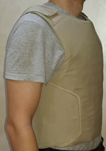 Size XL Concealed carry bullet proof Vest Body Armor IIIAOther Current Field Gear - 36071